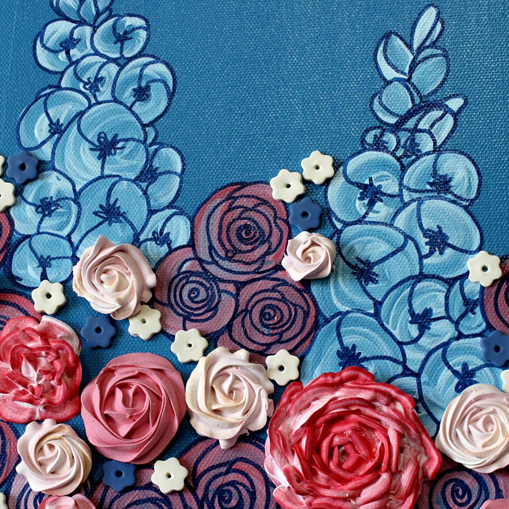 Sculpted Floral Arrangement