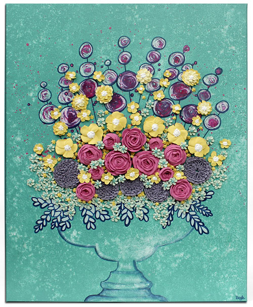 Read more about the article New Floral Still Life Paintings