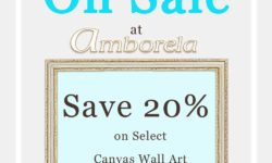 Save 20 percent on wall art on sale at Amborela