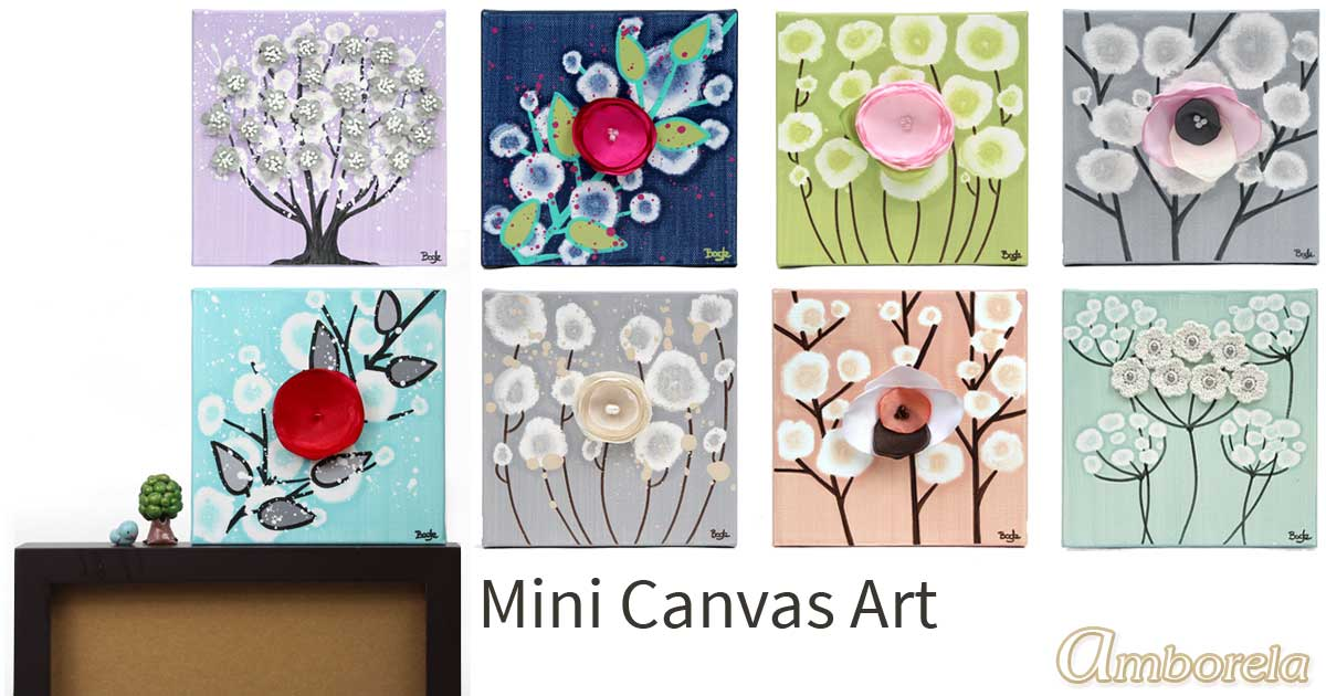 Read more about the article New Mini Art for Holiday Gift Giving