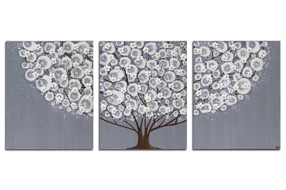 Feather Gray Blossom Tree
