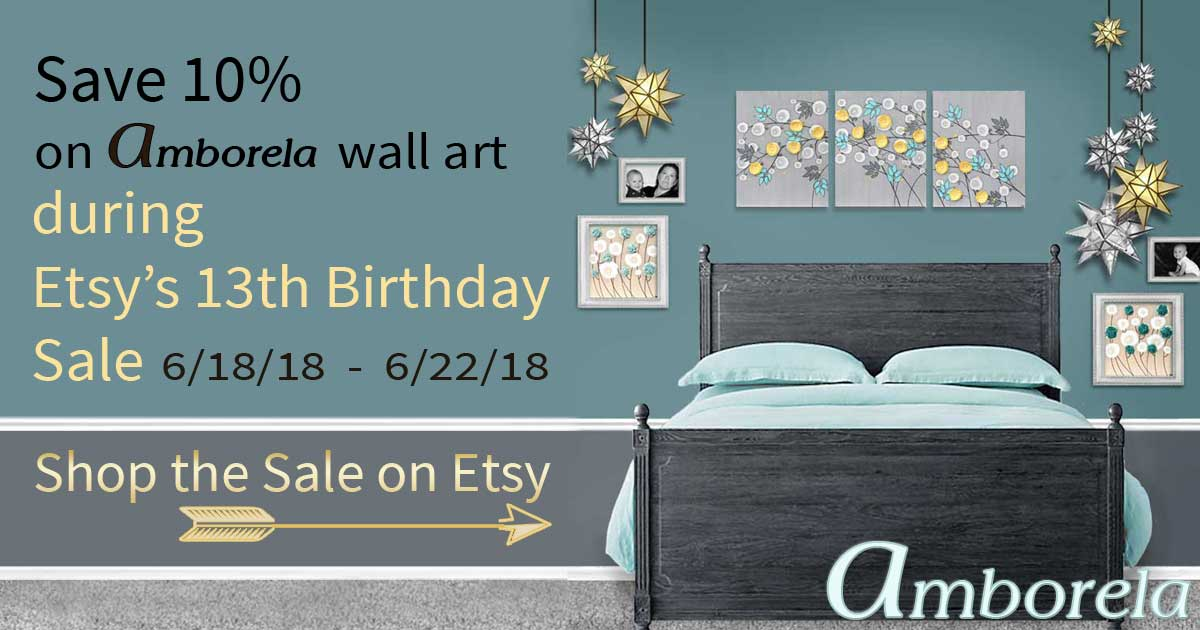 Read more about the article Shop Amborela's Sale During Etsy's Birthday