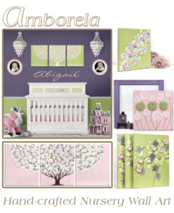 Read more about the article Color Scheme Idea for Your Nursery: Green, Purple, Pink