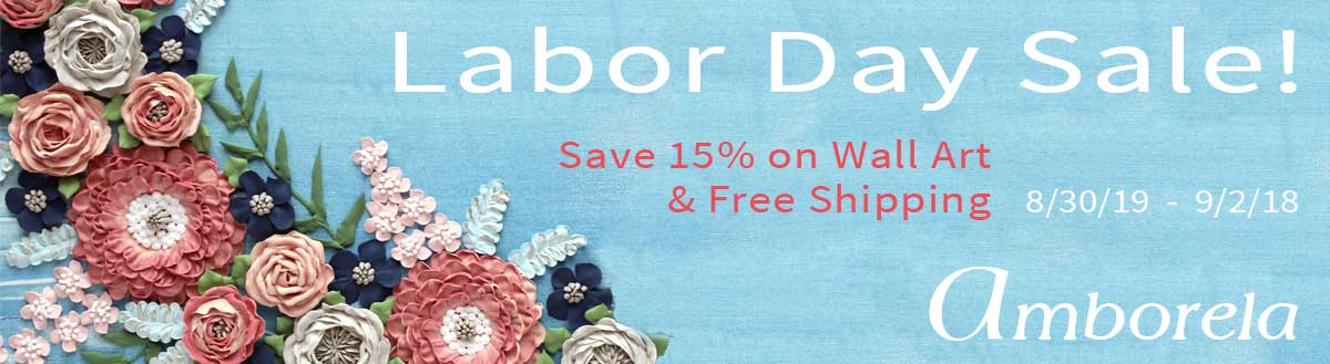 Labor Day Sale on Amborela wall art 2019
