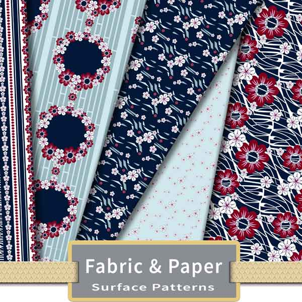 Fabric and Paper Surface Patterns