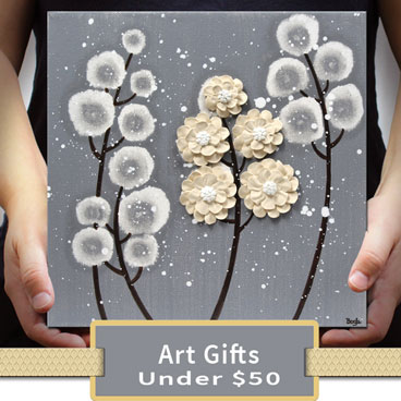 Shop for art gifts under 50