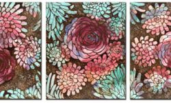 New dahlia flower design by Amborela