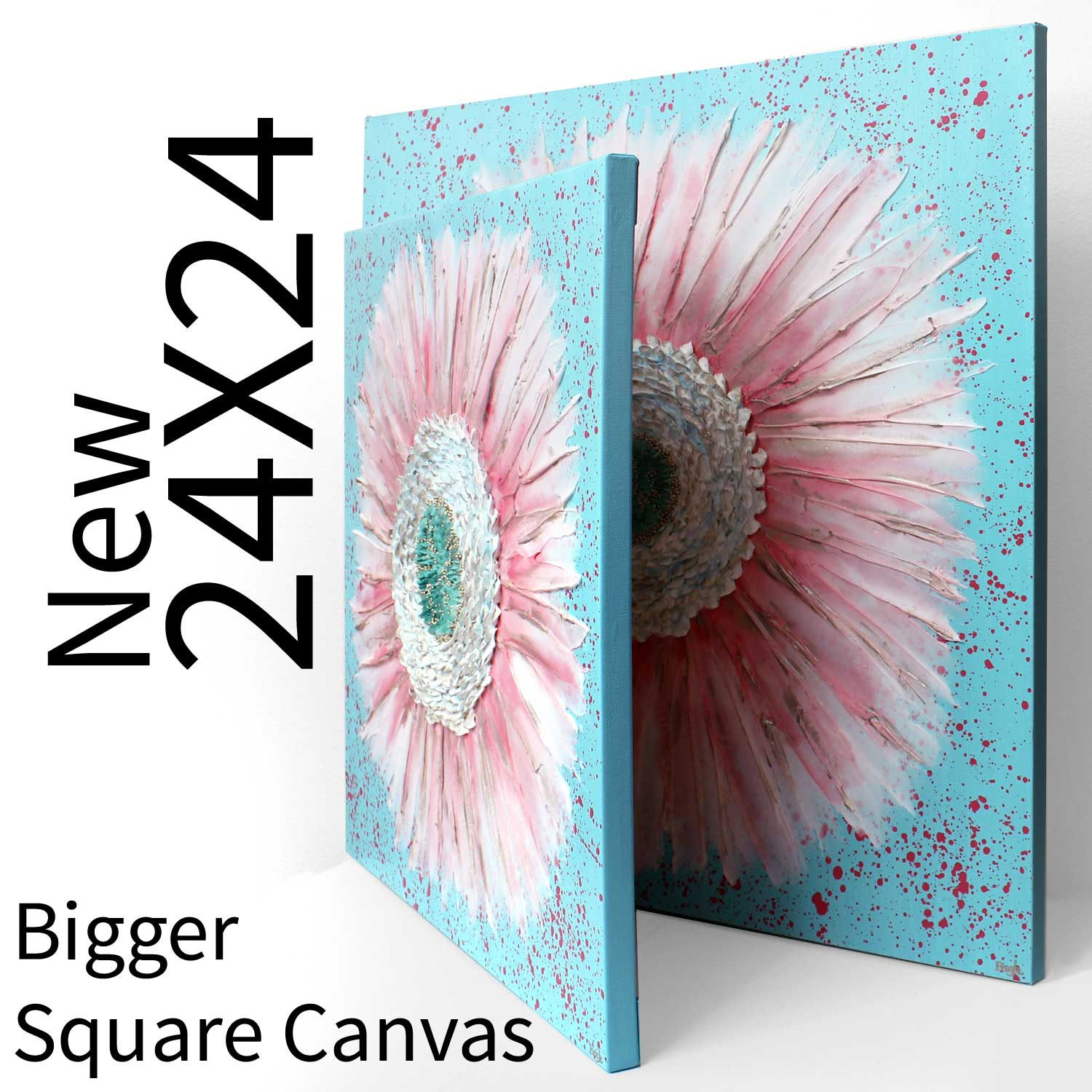 New square canvas size available in 24x24