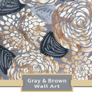 Brown & Gray Wall Art