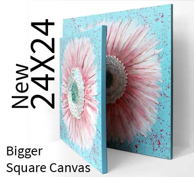 New 24x24 canvas size options