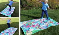 Dance like a hopscotch play mat for preschooler