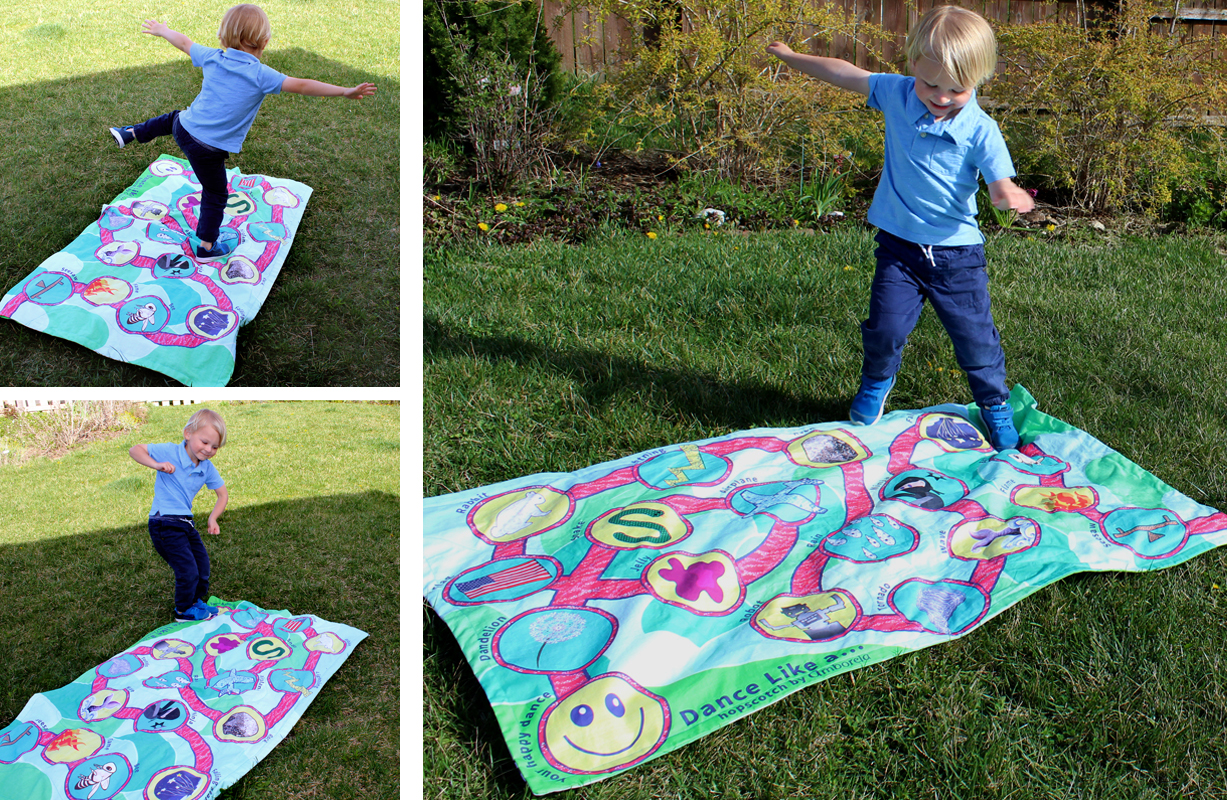 Read more about the article Easy Sew Blanket Play Mats: Treasure Hunt & Dance for Preschooler