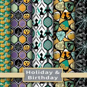 Holiday Fabric & Paper