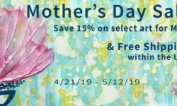 Mother's Day sale on select Amborela art for Mom