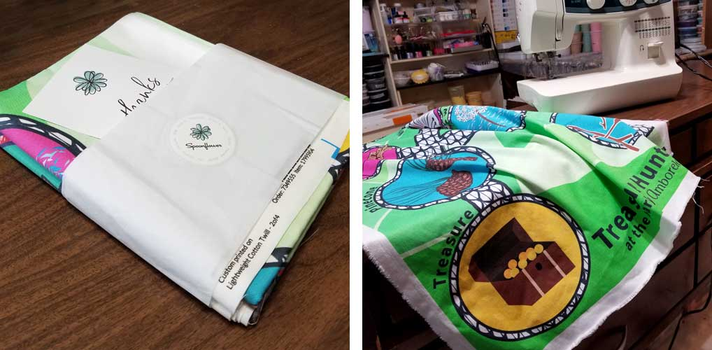 Supplies you need for sewing play mat