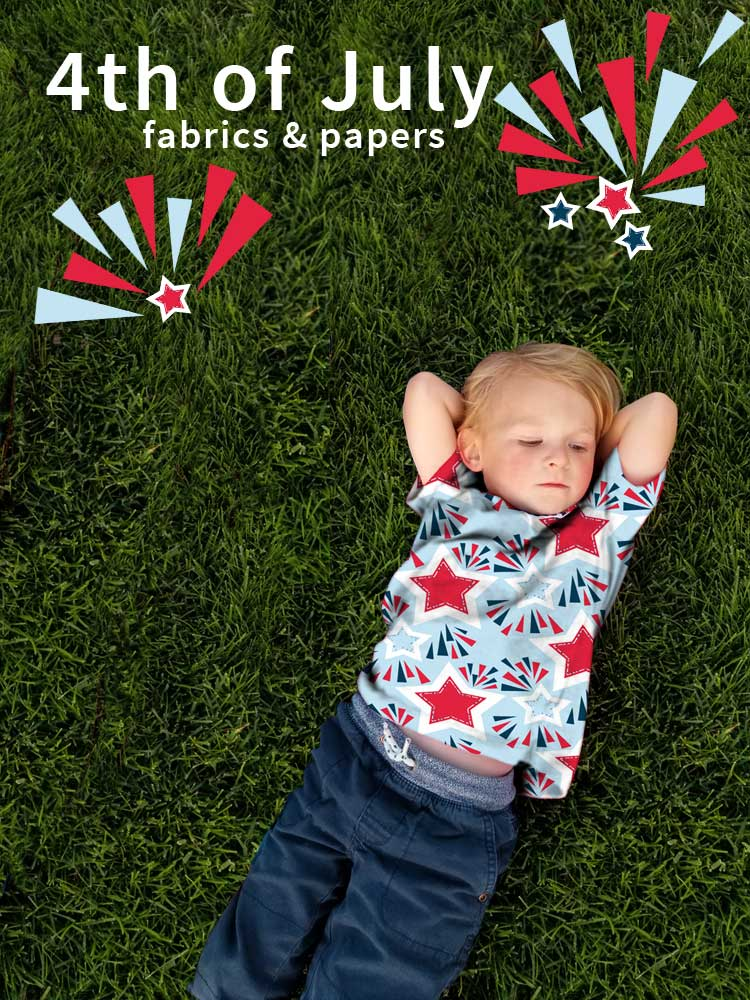 Read more about the article Patriotic Fabrics for 4th of July Sewing & Crafts