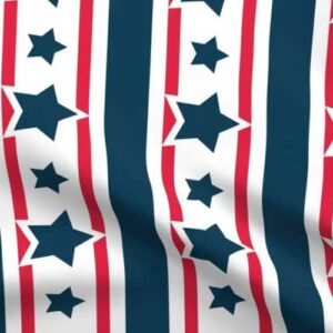 large scale stars and stripes for 4th of July banner