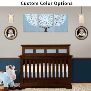 Custom Tree Wall Art to Match Nursery Colors – Large