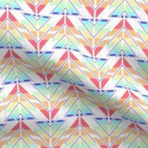 Fabric & Wallpaper: Valentine Rainbow Arrows