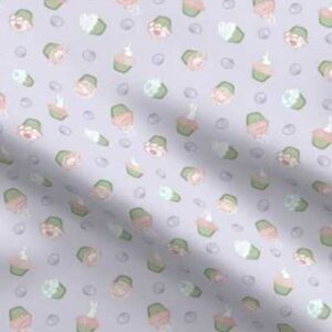 Fabric & Wallpaper: Easter Cupcakes, Pastels