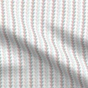 Fabric & Wallpaper: Egg Scallop, Teal, Pink