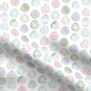 Fabric & Wallpaper: Painted Easter Eggs, Pastels