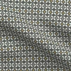 Fabric & Wallpaper: Farmhouse Butterfly Lattice, Charcoal
