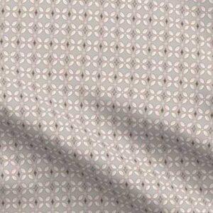 Fabric & Wallpaper: Farmhouse Butterfly Lattice, French Gray