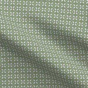 Fabric & Wallpaper: Farmhouse Butterfly Lattice, Green