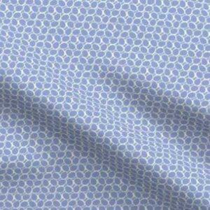 Fabric & Wallpaper: Easter Eggs, Minimal, Periwinkle