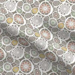 Fabric & Wallpaper: Ornate Easter Eggs, Earth Tones